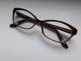 oprawki damskie Marc O'Polo okulary brązowe jasny brąz plastikowe
