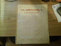 CH. Ganschals compositions Chant des sirenes Świtezianka