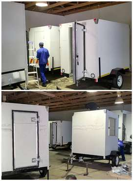 Mobile freezers/Cold rooms and fridge for sale.
