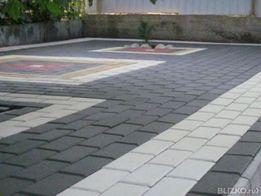 Тротуарная плитка КИРПИЧ 100х200 ВИБРОПРЕСС. Киев, Область, Купить.