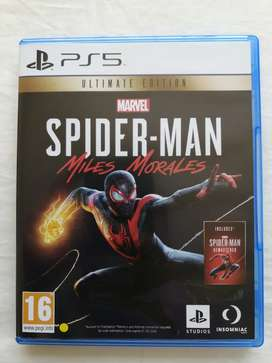 Spiderman Miles Morales PS5 - Ultimate Edition