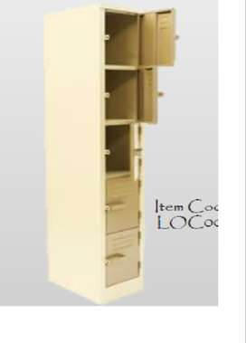 1800x300x450 5 compartment locker