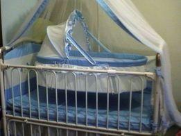 Кроватка-манеж-люлька Geoby