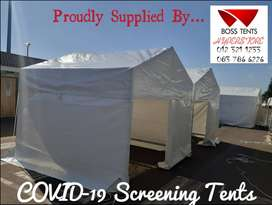 Isolation Tents - Screening Tents Now Available