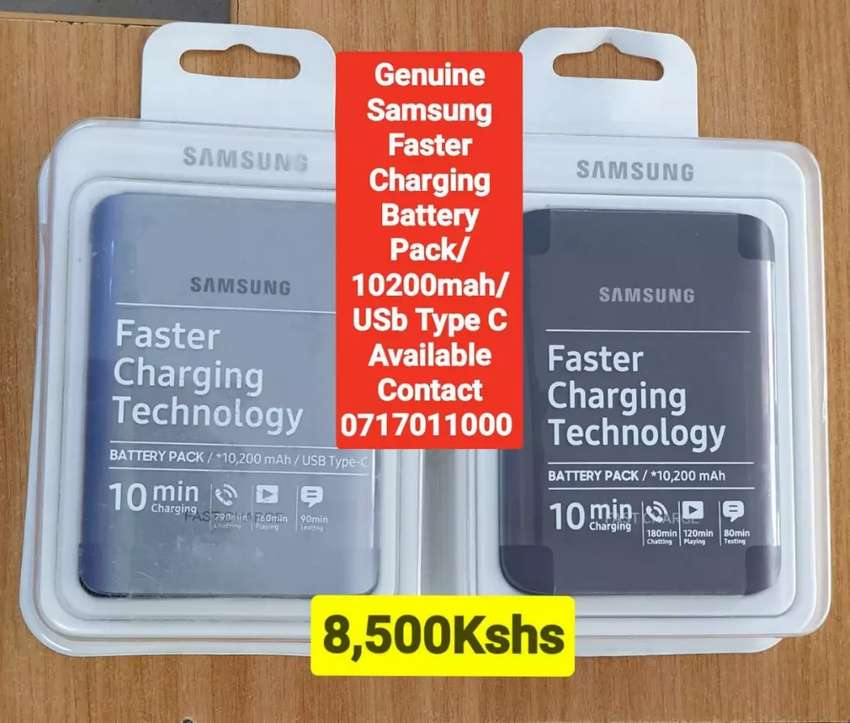 Genuine Samsung Faster Charging Battery Pack/10200mah 0