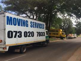 Doing transport, removals and delivery