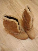 buty botki rozm. 39 nowe