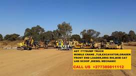FRONT END LOADER,TLB ND GRADER TRAINING CENTER IN KURUMAN,KIMBERLEY