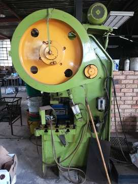 80 Ton Eccentric Press for sale.