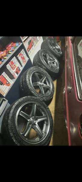 Car Mags and tires for Sale