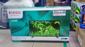 "Brand new 43"" ecoo led tv hd ready"