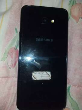 Samsung j4+ used for 3 months cracked screen