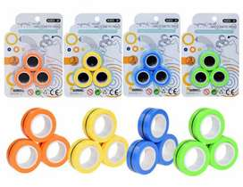 Magnetic rings ( new craze of fidget)