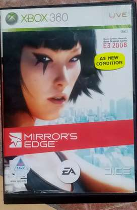 Xbox 360 game. Mirror edge.