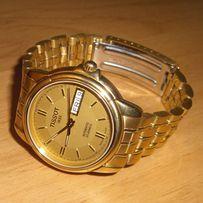 часы золотые (позолота 750) Tissot оригинал, модель А660/760 недорого