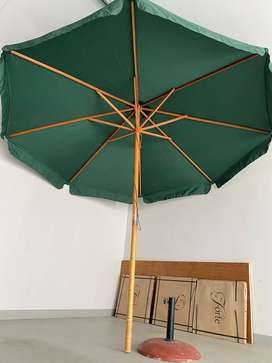 Wooden Cape Umbrella 2.7 m