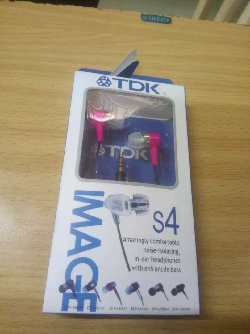 Brand-new tdk bass earphone with receiver 0