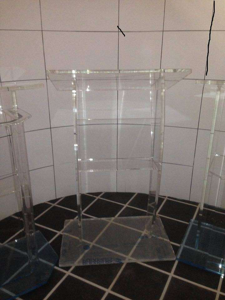 Thick Acrylic Podiums/ Pulpits