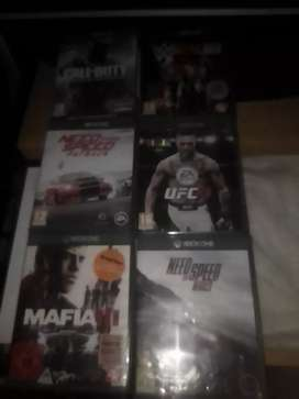 Im selling these 6 games for R1100 or R150 each