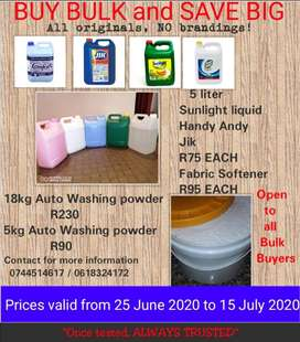 House hold detergents