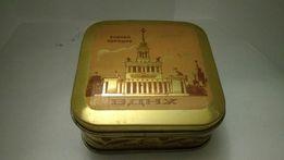 Советская коробка из под зубного порошка. СССР