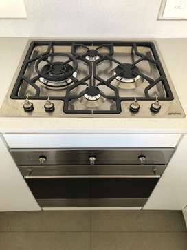 SMEG 60cm Oven and Hob