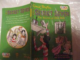 Книга английский язык secret seven enid blyton Энид Мэри Блайтон юмор