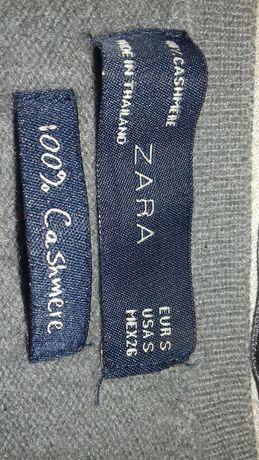 Szary 100% kaszmirowy sweter Zara Nowy Dwór Mazowiecki - image 2