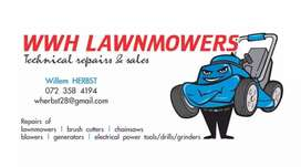 Rentals on brushcutters & chainsaws