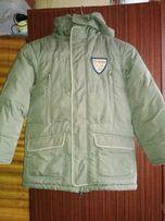 Зимова курточка на хлопчика 128 зріст (8 років)
