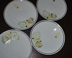 чайные блюдца 4 шт