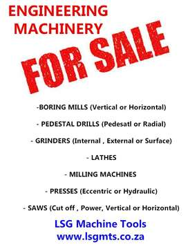 Engineering Machinery for sale