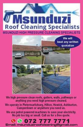 Msunduzi Roof Cleaning Specialists