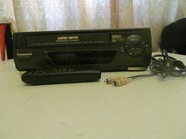 Продам видеомагнитофон Panasonic SR55 + 33 видеокассеты
