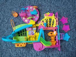 Polly Pocket Centrum Handlowe + dodatki (lalki, ubranka)