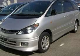 Nice family car toyota estima 8 setters clean condition