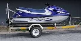 Jetski GP 1200 Yamaha Waverunner with galvanized trailer