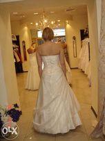 """""""Dolores"""" Wyjątkowa suknia ślubna koloru ecru rozm.38-42 + gratis"""