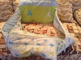 Зашита и балдахин на детскую кроватку.