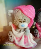 Мишка Тедди, теддики, мыло тедди ручной работы, тедди в полотенце
