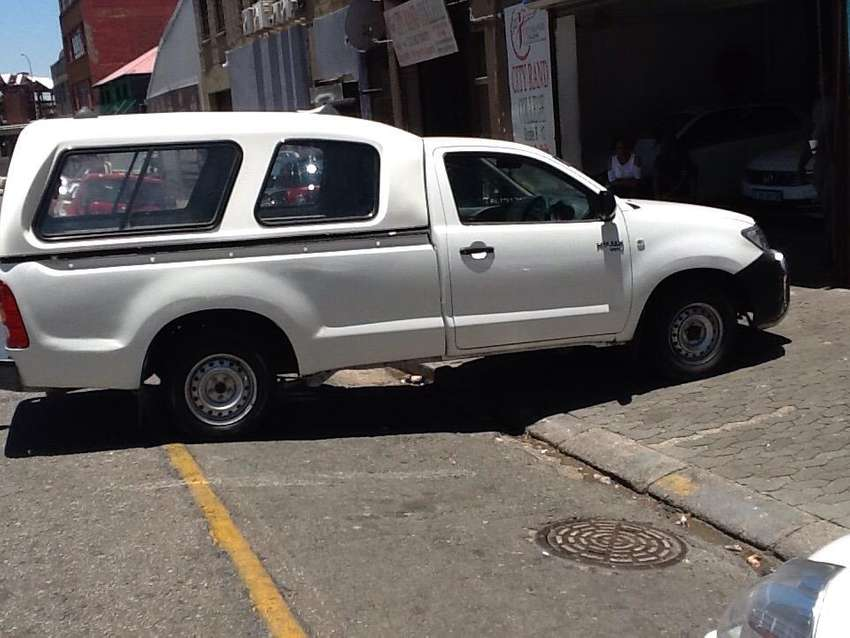Toyota hilux is available now for sale