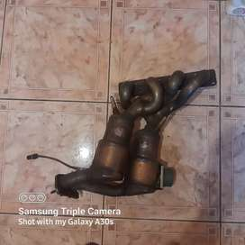 Bmw e90 320i banana branches with decat catalytic converters
