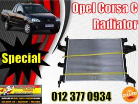 Opel New and Used spares\parts-Radiator corsa c