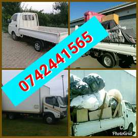 Trucks and bakkies for moving house and office furniture deliveries