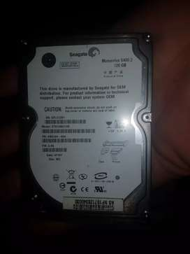 120G hard drive and 2g ram