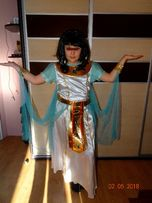strój egipcjanka kleopatra królowa egiptu Nilu 145-158 baletki Smyka