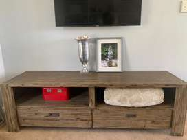 Coricraft Wooden TV stand/console