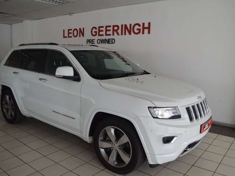 2014 Jeep Grand Cherokee 3.0L V6 CDR O/LAND for sale Bloemfontein 0