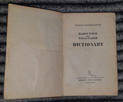 Słownik polski - angielski angielsko - polski Dictionary