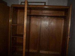 Komoda przedwojenna , szafa trzydrzwiowa
